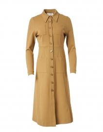 Montreal Camel Jersey Shirt Dress
