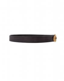 T.ba - Tzar Black Leather Belt