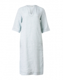 Ellery Light Blue Linen Dress