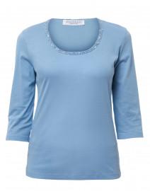 Petit Blue Cotton Top