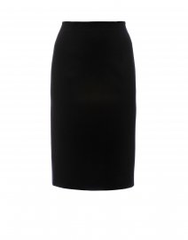 Ramisi Black Skirt with Back Ruching