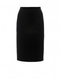 Ramisi Black Skirt with Back Ruching