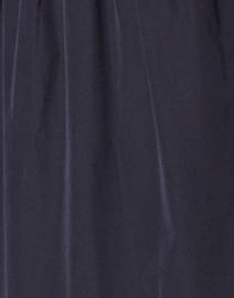 Rosso35 - Navy Cotton Taffeta Tiered Dress