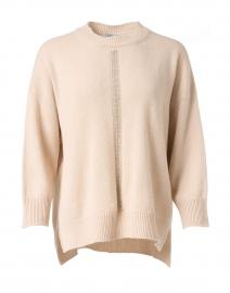 Champagne Wool Silk Cashmere Sweater