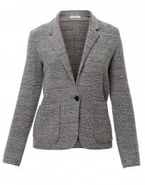 Brest Light Grey and Beige Tweed Jacket