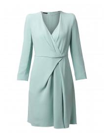 Mint Green Pleated Dress