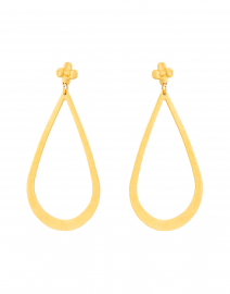 Bo Bibi Gold Teardrop Earring
