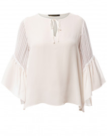 Alicia Ivory Silk Blouse