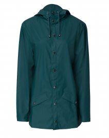 Dark Teal Short Rain Jacket