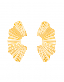Nautia Gold Wave Earrings