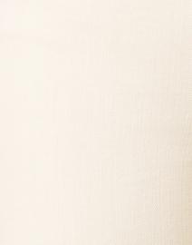 Veronica Beard - Carson Ecru High Rise Ankle Flare Stretch Denim Jean