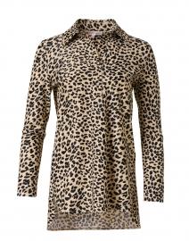 Hadley Camel Cheetah Printed Top