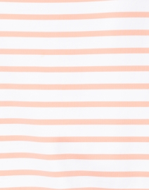Saint James - Phare White and Coral Striped Shirt