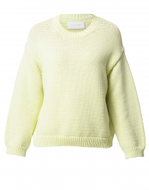 Pismo Chartreuse Cotton Sweater