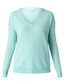 Agave Heather Essential Cashmere Sweater