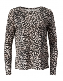 Animal Printed Soft Touch Top
