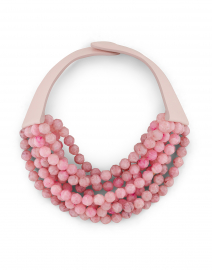 Bella Pink Two-Tone Necklace