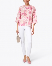 Warm - Roxanna Floral Cotton Top