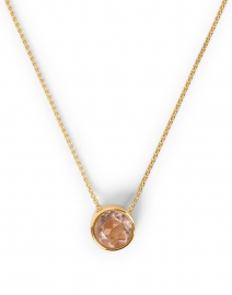 Dean Davidson - Morganite Gold Pendant Necklace