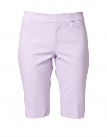 Heather Iris Premier Stretch Cotton Shorts