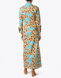 Ala von Auersperg - Kathe Sunflower Print Cotton Voile Shirt Dress