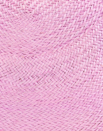 SERPUI - Blair Lilac Straw Woven Clutch