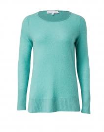 Emerald Cashmere Open Slit Sweater