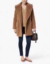 Max Mara - Orchis Brown Teddy Camel Coat