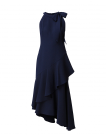 Relia Navy Crepe Dress