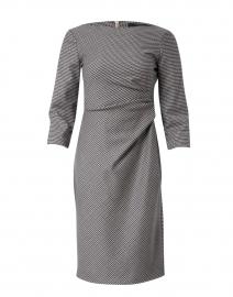 Burgos Houndstooth Virgin Wool Dress