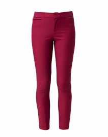 Madison Berry Cotton Power Stretch Pant