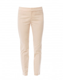 Madison Beige Cotton Power Stretch Pant