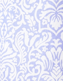 Connie Roberson - Rita Lavender Floral Linen Jacket
