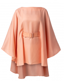 Sofia Pink Belted Cape Top