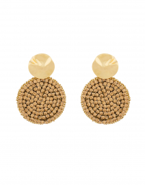 Kaya Gold Sequin Earrings