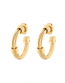 Ariane Small Gold Wired Hoop Earring