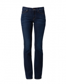 Parla Dark Blue Stretch Cotton Flared Jean
