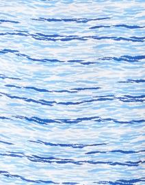 Saint James - Garde Cote Imprim Blue Ocean Print Top