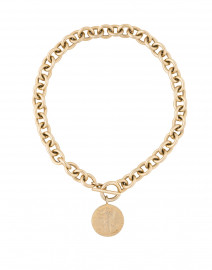 Liberty Matte Gold Necklace