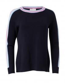 Navy Merino and Cotton Sweater