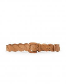 Deidre Camel Wavy Pieced Belt