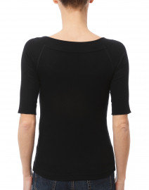 Marc Cain - Black Crossover Top