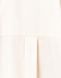 Vince - Ivory Stretch Silk Popover Blouse