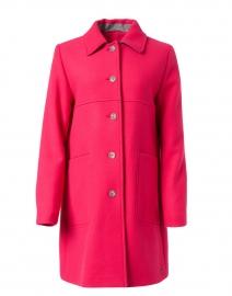 Amelie Pink Wool Coat