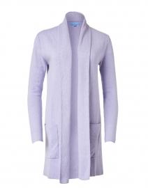 Lilac Haze Cotton Cashmere Travel Coat