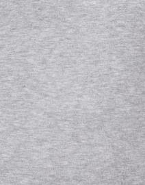 J'Envie - Heather Grey Top with Button Cuff Detail