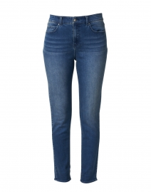 Abbot Blue Vintage Wash Stretch Cotton Jean