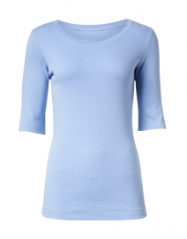 Sky Blue Cotton Top