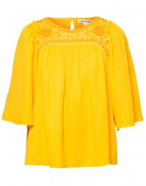 Astrid Marigold Yellow Top