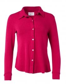 Eastdale Raspberry Cotton Modal Top